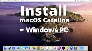 How to Install macOS 10.15 Catalina on VirtualBox on Windows PC ? | IT Guy