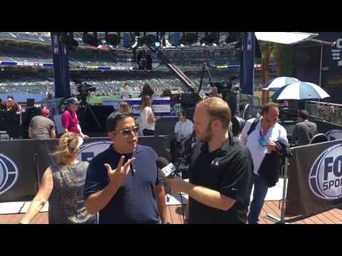 MLB All-Star Game 2016: Fox Sports' Francisco Contreras