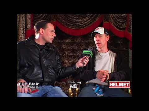 'Helmet' Page Hamilton & Eric Blair talk Bowie ,Bono & music biz 2005