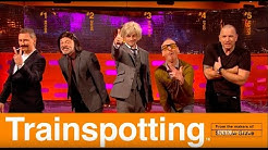 The Trainspotting Cast Recreate Their Famous Movie  Poster - The Graham Norton Show