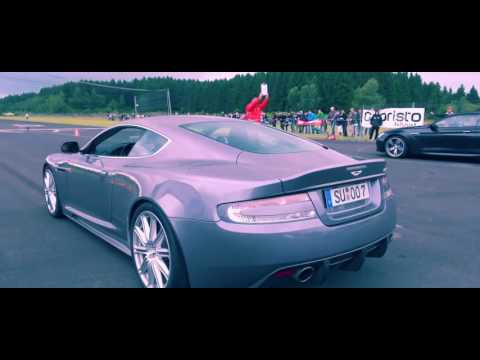 "ASTON MARTIN DBS ""amazing v12 sound""!!!!!"