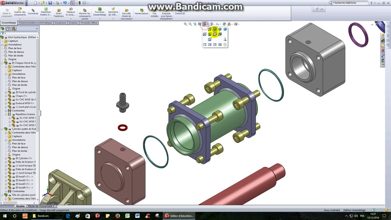 verin solidworks
