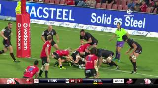 2017 Super Rugby Roud 4: Lions v Reds