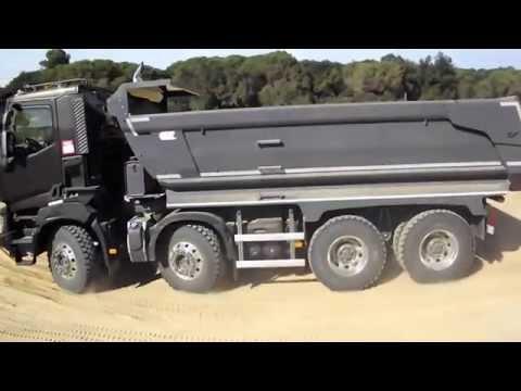 Los camiones Renault Trucks R/EVOLUCIONAN la cantera