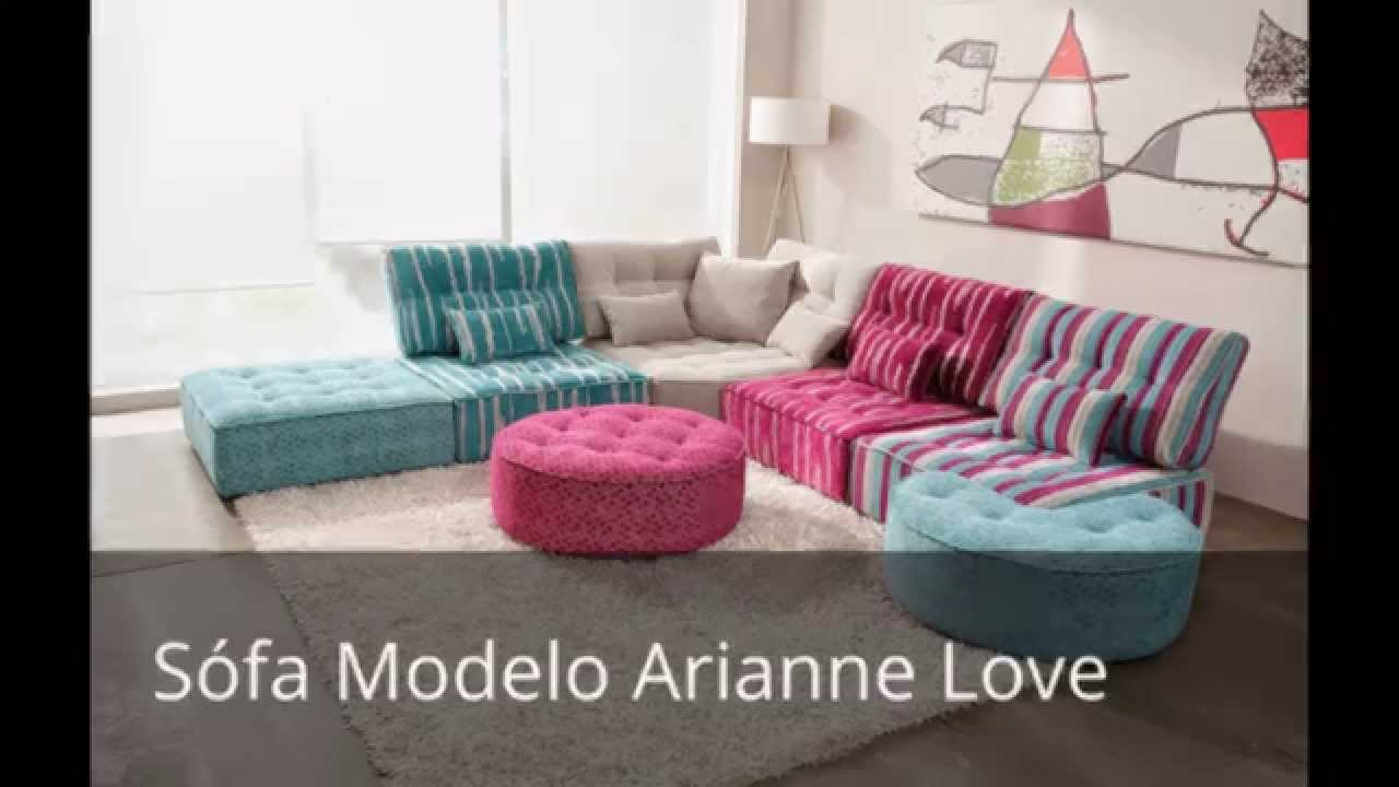 sofas fama modelo arianne love youtube. Black Bedroom Furniture Sets. Home Design Ideas