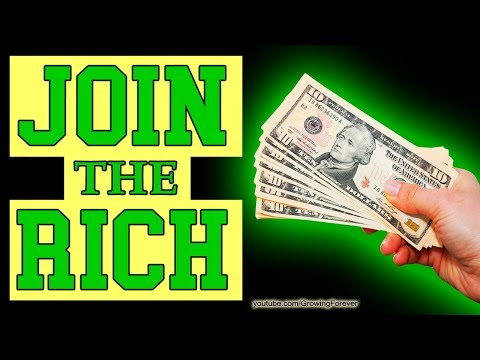 How To Join The Rich - Create Money, Abundance, Law of Attraction, Success (Subconscious Mind)