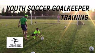 Soccer Goalkeeper Training: U10 Players