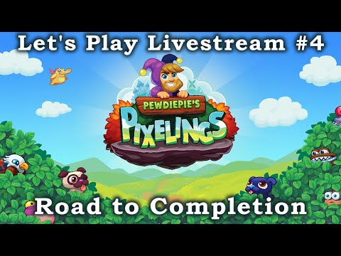 Pewdiepie's Pixelings - Let's Play Livestream - Road to Completion #4