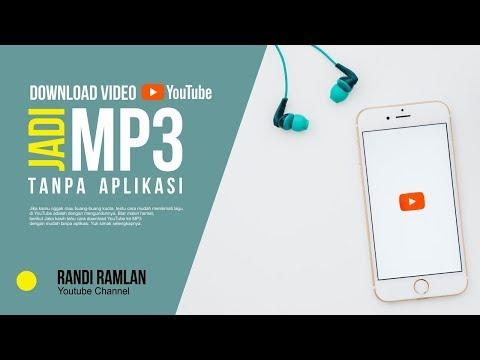 DOWNLOAD VIDEO YOUTUBE JADI MP3 | TANPA APLIKASI