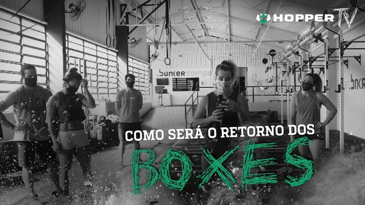 A ABERTURA DOS BOXES ESTÁ CADA VEZ MAIS PRÓXIMA