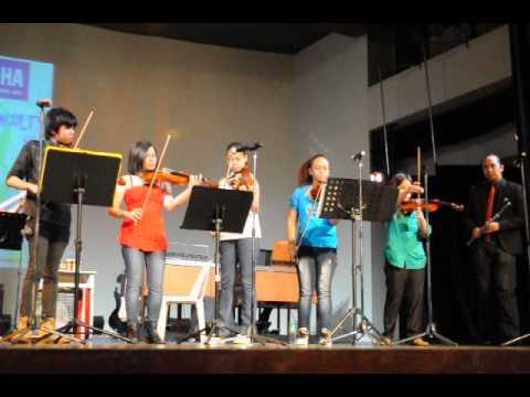 Yamaha School of Music Summer Concert - Movie Themes (Super Heroes) Medley