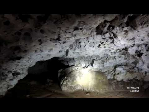 Exploring underground cave 100km from Riyadh