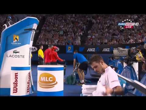 Stanislas Wawrinka Vs Rafael Nadal Australian Open 2014 Final FULL HD