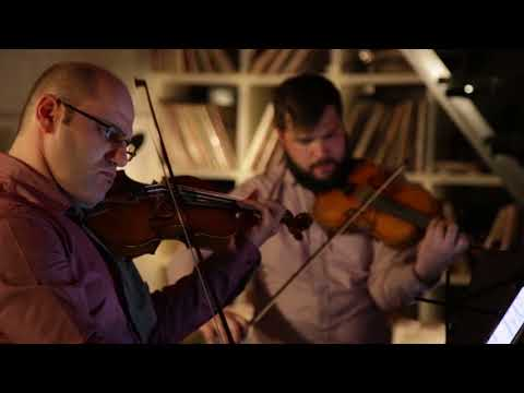 Amernet String Quartet plays Beethoven 'Pathetique' Sonata, op. 13 (arr. Jeffery Briggs)
