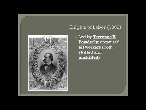 Eichenlaub The Labor Movement
