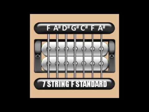 Perfect Guitar Tuner (7 String F Standard = F A# D# G# C# F A#)