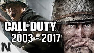 All Call of Duty Game Trailers Evolution (2003-2017) CoD History PS4 Xbox One PC PS3 Xbox360