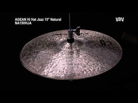 "Hi Hat Jazz 15"" Natural video"
