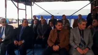 زيارة هانى ضاحى وزير النقل للقناة الجديدة 13فبراير2015