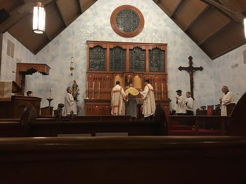 Solemn Mass - The Chair of Saint Peter - February 22nd, 2018