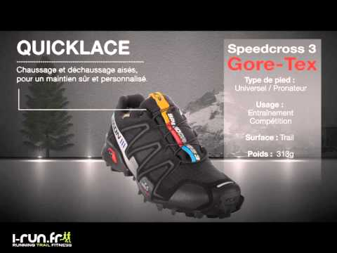 grand choix de 3d079 e082c Découvrez la Salomon Speedcross 3 Gore-Tex
