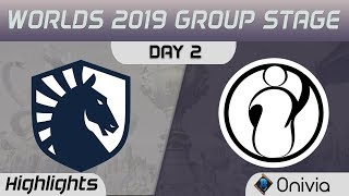 TL vs IG Highlights Worlds 2019 Main Event Group Stage Team Liquid vs Invictus Gaming by Onivia