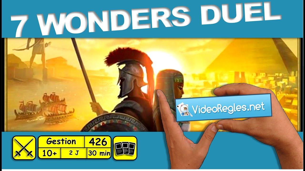 Buy 7 Wonders Duel - Board Game - Repos Production