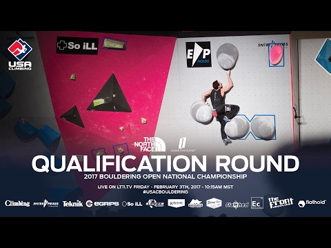 Qualification Round - 2017 Bouldering Open National Champion
