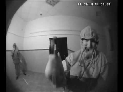 Разбитие двух видеокамер.