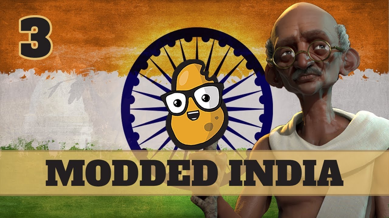 Download Civ 6 Modded India Ep. 3 - Let's Play Civ6 Gandhi in the 8 Ages of Pace mod!