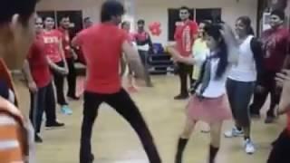 girl and boy power full dance