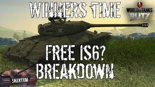 Winners Time Event Breakdown - Free IS6? - Wot Blitz
