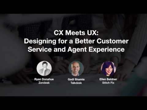 CX Meets UX: Designing for a Better Customer Service and Agent Experience