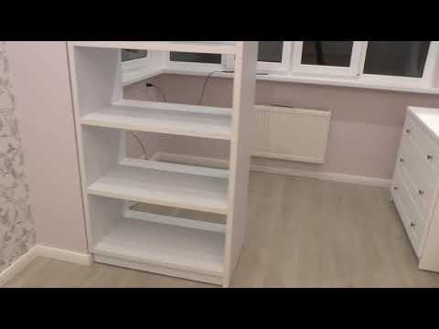 Обзор мебели для детской. Белая мебель.