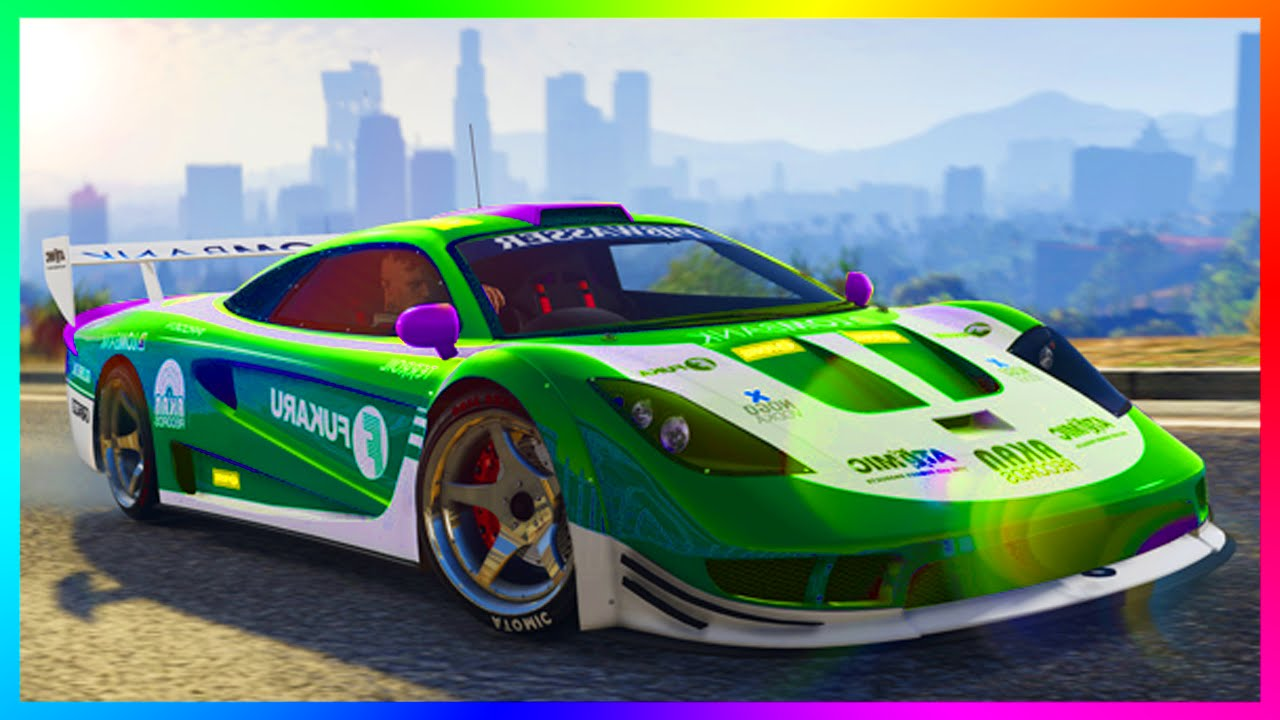 Car Stunts: GTA 5 DLC ALL 13 CUNNING STUNTS UPDATE SUPER CARS, RACING