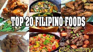 Top 20 Filipino foods