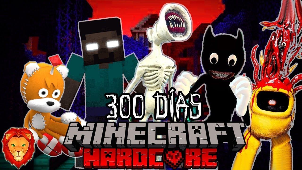 Download SOBREVIVÍ 300 días en un Apocalipsis de CREEPYPASTAS en Minecraft HARDCORE y esto es lo que sucedió