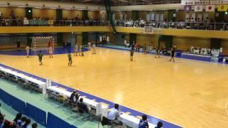 2013年10月6日(日)東京国体少年女子ハンドボール準決勝埼玉代表対大分代表Vol.1 Handball Japan Girls Saitama Oita at Tokyo