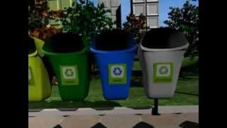 Animação em 3d sobre Reciclagem mpg