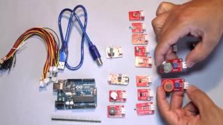 kit arduino Uno R3 y modulos Keyes