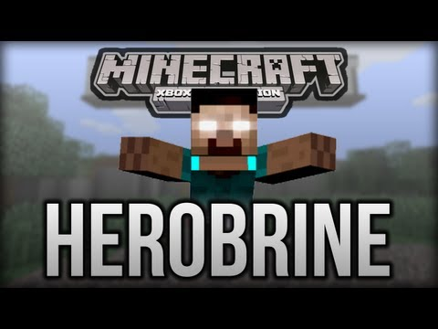 Minecraft (Xbox 360) - Herobrine Spotted? (Sighting)