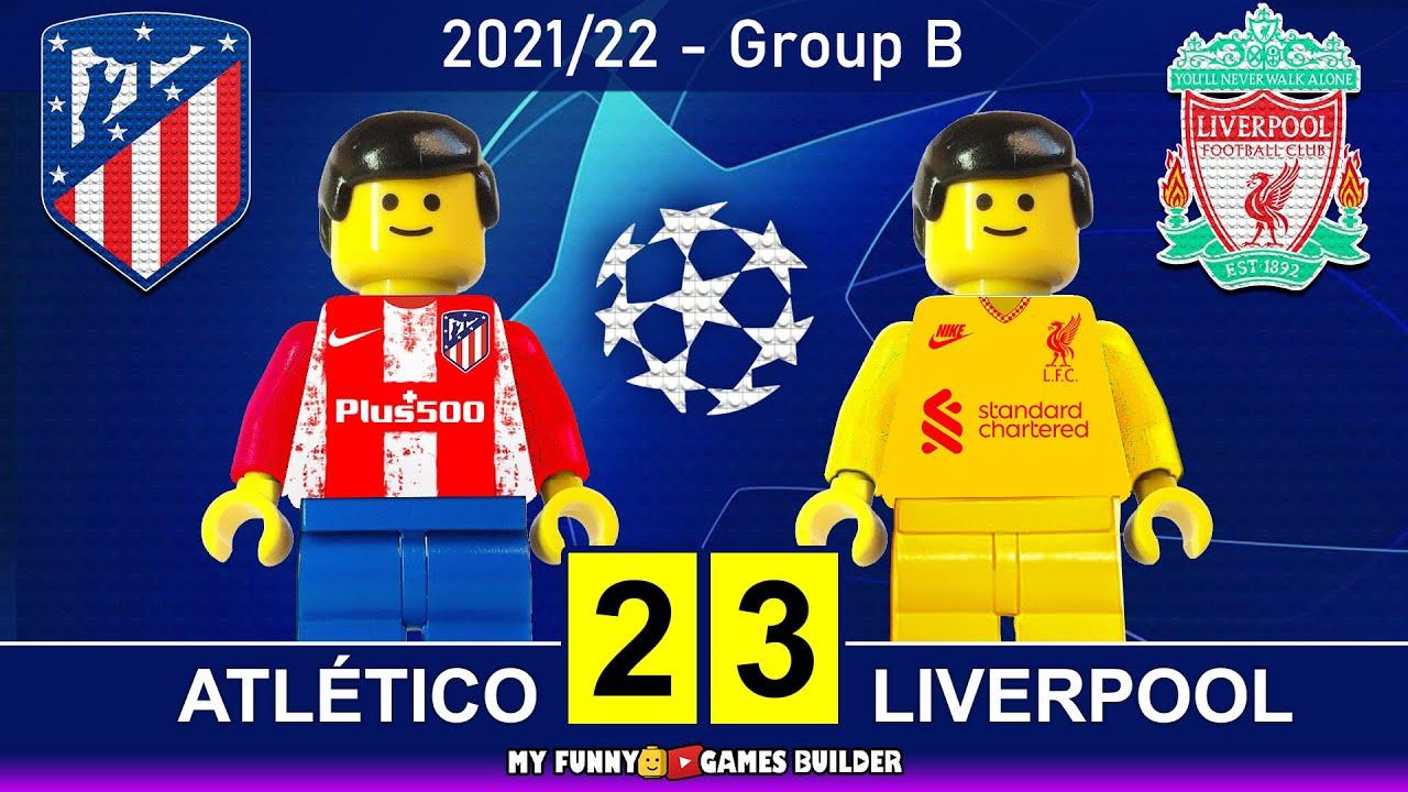 Atletico Madrid vs Liverpool 2-3 • Champions League 2021/22 • All Goals & Hіghlіghts Lego Football