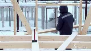 Этапы работ по возведению каркасного дома