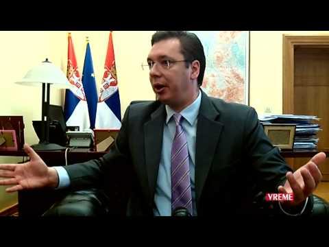 Intervju sa Aleksandrom Vučićem