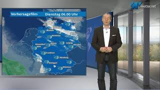 Ab Donnerstag vielfach sonnig bei 20°C (Mod.: Frank Böttcher)