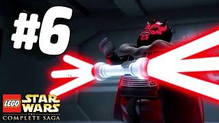 БИТВА С ДАРТ МОЛОМ - Lego Star Wars: The Complete Saga Прохождение - Часть 6