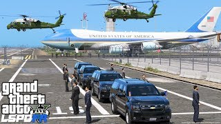 GTA 5 Presidential Mod | Marine One Helicopter Transporting President Trump To Air Force One