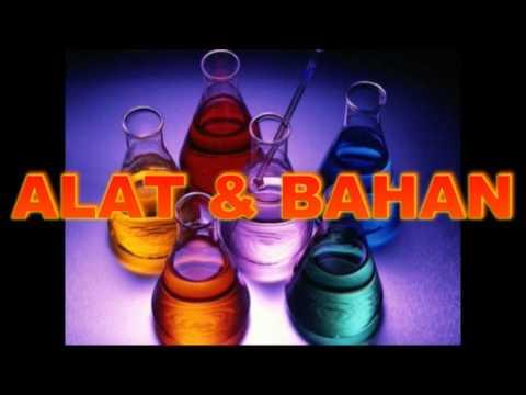 Percobaan Kimia Zat Aditif Pemanis & Pewarna