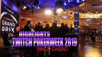 Highlights Twitch Pokerweek 2019 Kings Casino | Vlog