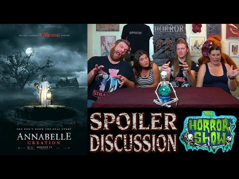 """""""Annabelle: Creation"""" 2017 Horror Movie Spoiler Review and Discussion – The Horror Show"""